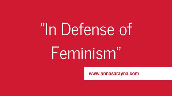 In Defense of Feminism