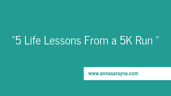 5 Life Lessons from a 5K Run