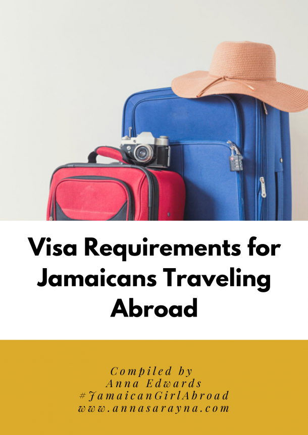 Visa Requirements for Jamaicans Traveling Abroad